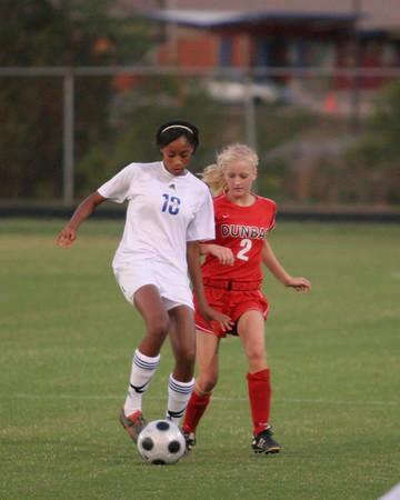 Dunbar Soccer vs East Jessamine County