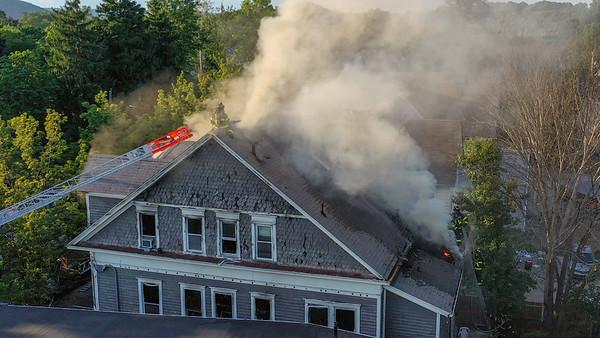 Ella T. Grasso Fire (New Haven, CT) 6/26/20