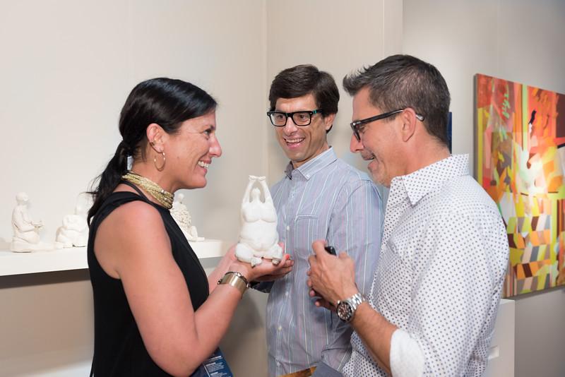 Pilar Landerretche, Beau Braun, Carlos Alzate