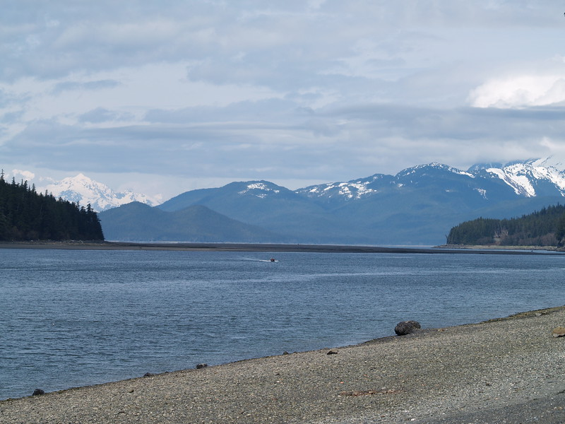 Chilkoot Mountains from Eagle Beach State Park