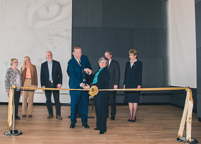 Asbjornson Ribbon Cutting