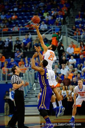 Florida Gators vs LSU Tigers Mens Basketball Quick Gallery  1-20-2015