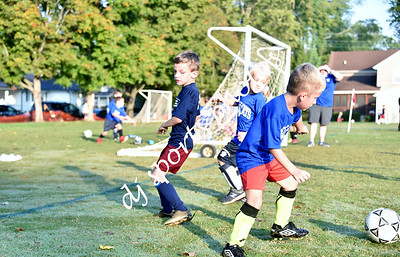 2021-10-09 SHMS Kindergarten Soccer