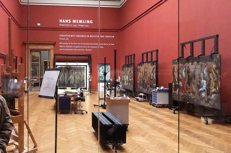 Antwerpen, Museum der Schönen Künste: Restaurierung