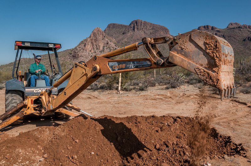 Digging Foundation Holes #1