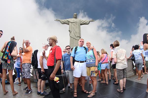 Corcovado - Christ the Redeemer, Rio de Janeiro - December, 2013