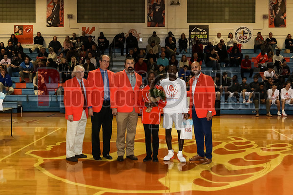 Boys Varsity Basketball Senior Night - 2019