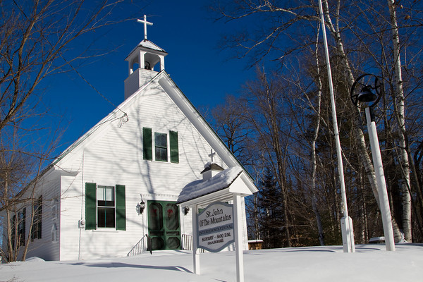 Chapel of St John of the Mountains, Ellsworth, New Hampshire