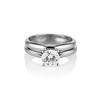 0.78ct Round Brilliant Diamond Bridal Set by Cartier 0