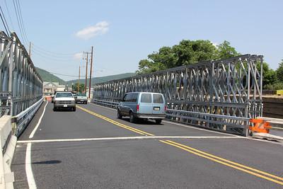 Temporary Bridge, SR309, Tamaqua (6-20-2012)