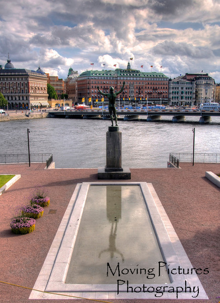 Stockholm - view toward Grand Hotel