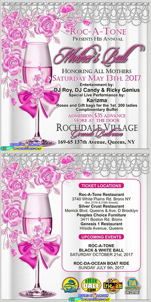 """ROCATONE'S ANNUAL """"MOTHER'S DAY BALL 2017""""(17)"""
