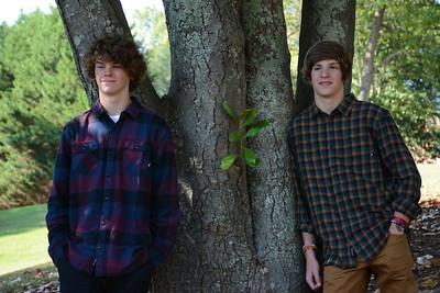 Aidan and Sam portraits
