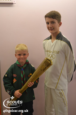 July - Olympic Torch Visitor