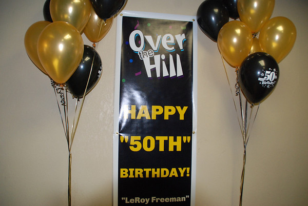 Happy 50th Birthday Leroy