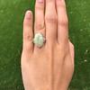 5.01ct Art Deco Opal and Diamond Ring 10