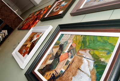 Exhibition at The Claddagh Gallery.www.claddaghpictureframing.org.uk