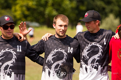 8-7-14 USA Drag'N Thrust v Germany Heidees Mixed Division Thursday Matchup at WFDF 2014 World Ultimate Club Championships