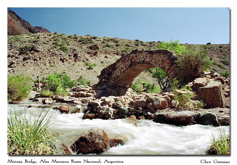 Mendoza Bridge, Alta Montana Route Nacional