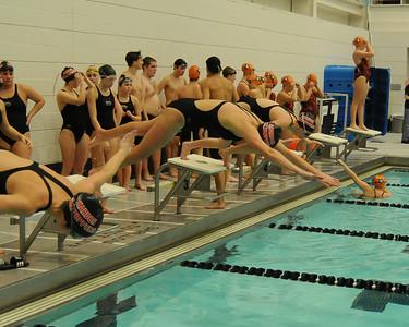 CHS Swimming vs North