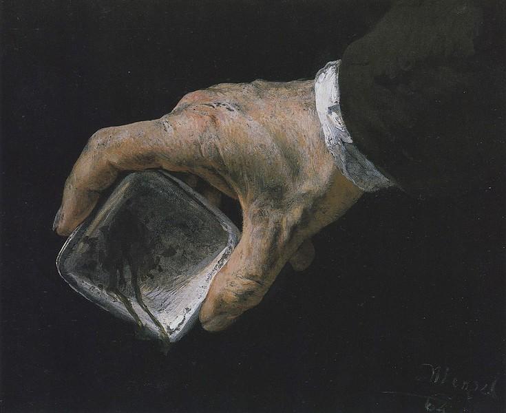 Adolph Menzel 1864