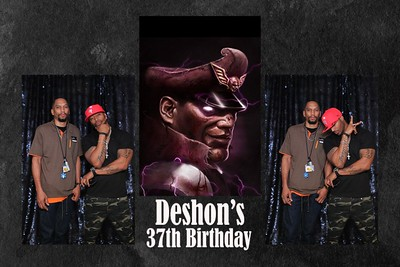 Deshon 37th Birthday