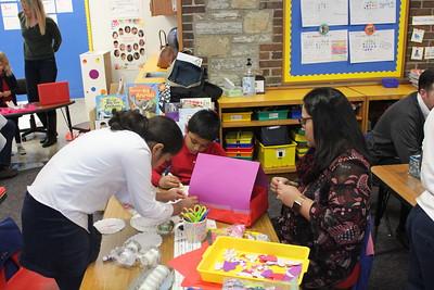 Kindergarten Valentine Village