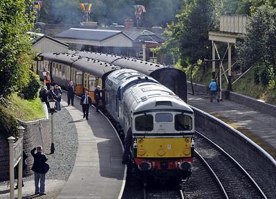 Llangollen Railway diesels, 2011