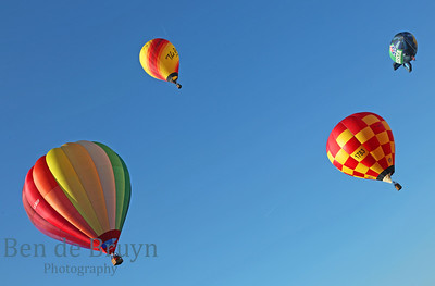 Hot Air balloons and Kite Surfing
