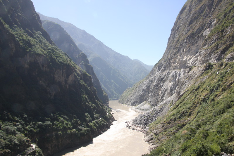 Tiger Leaping Gorge (one of the longest, deepest narrowest gorges in the world)