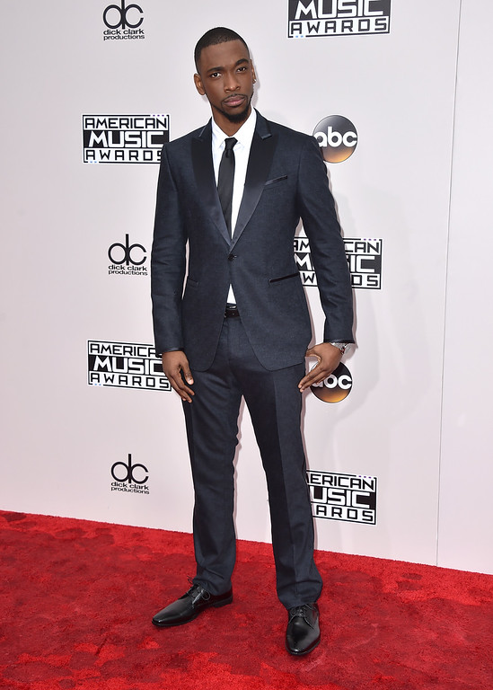 . Jay Pharoah arrives at the American Music Awards at the Microsoft Theater on Sunday, Nov. 20, 2016, in Los Angeles. (Photo by Jordan Strauss/Invision/AP)