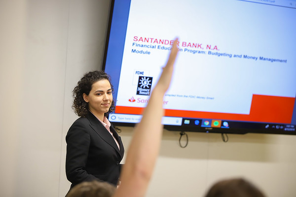 Santander Financial Literacy Sessions 2019 - City Year Boston