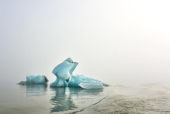Icebergs of Jokulsarlon & Fjallsarlon