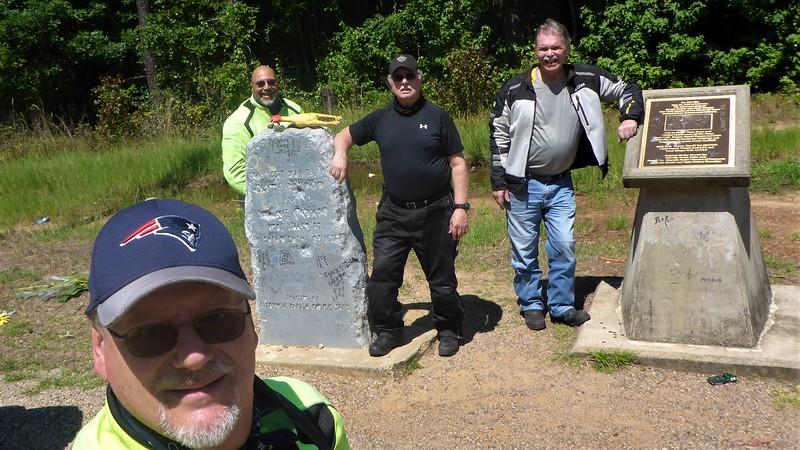 Me, Mike V., Rick B., and Randy S.
