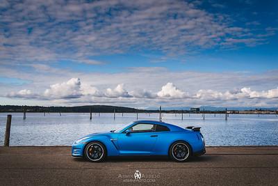 Paul's Nissan GTR