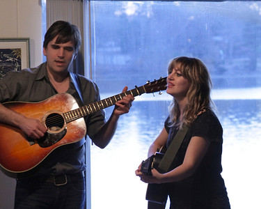 Anais Mitchell & Jefferson Hammer at Music By the Bay