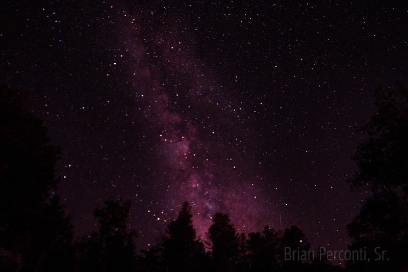 Custer's Gulch, SD Milky Way