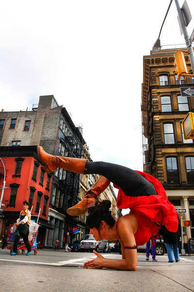 Tribeca Backbend ~ New York
