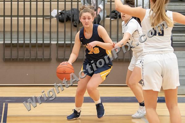 2019 02 28 Clarkston Varsity Girls Basketball vs Stoney Creek