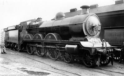 Robinson Class B1 / B18 (GCR Class 8C) 4-6-0s reclassified B18 (GCR Class 8C) in 1943