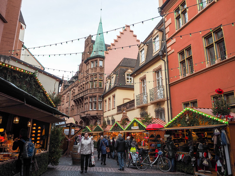 Christmas market in Freiburg, Germany