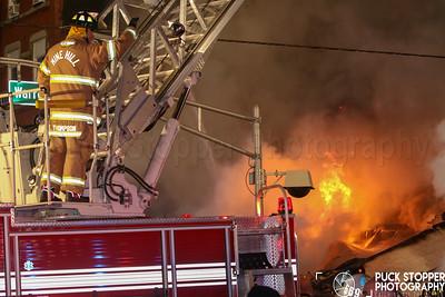 7+ Alarm Commercial Building Fire - 3 N Warren St, Dover, NJ - 10/22/18