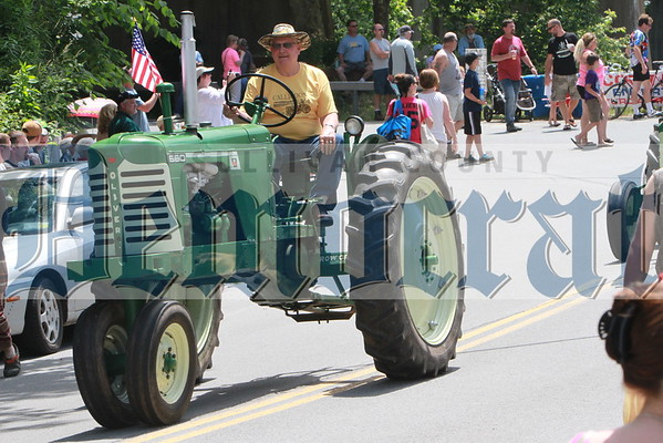 Callicoon Tractor Parade by Dick Sanford