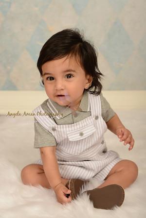 Nishal's 6 month Portraits