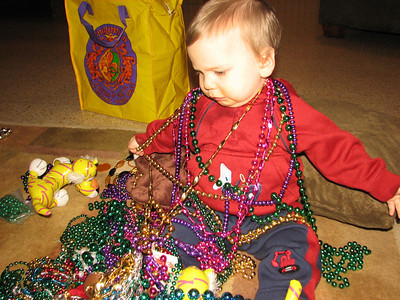 Ben after the Endymion Parade