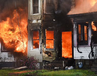 PHOTOS: Fire rips through Morrisville Borough neighborhood
