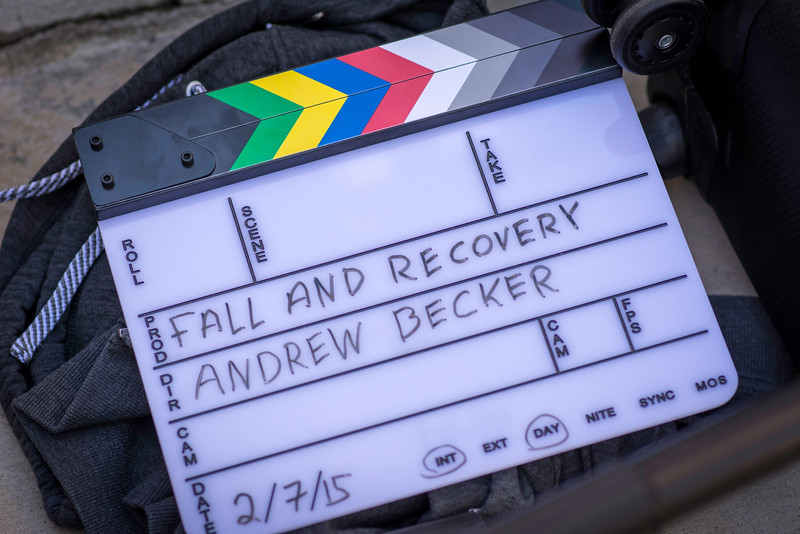 Fall and Recovery Filming and Production