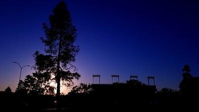 2018: Campus at Sunset