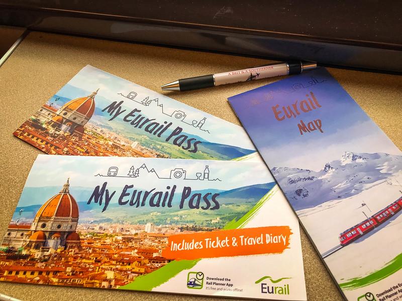 eurail first class travel