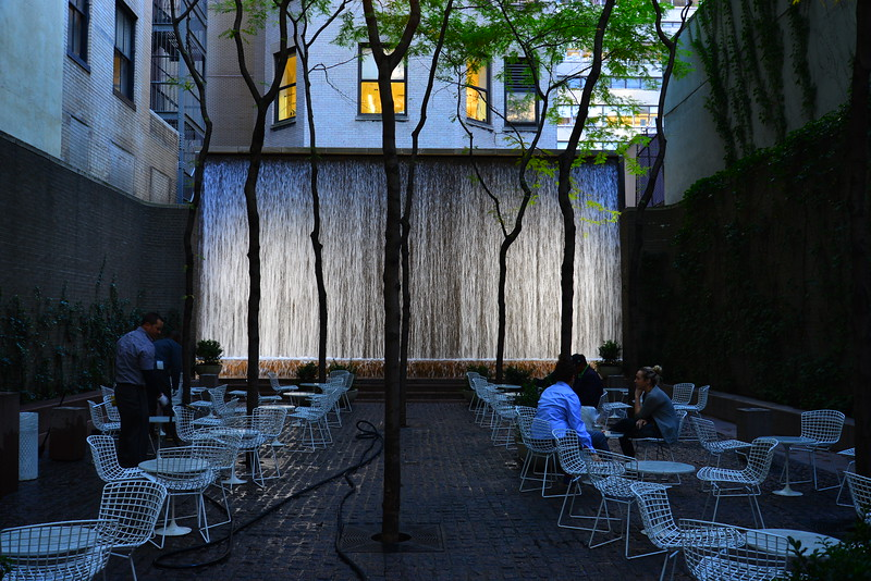 Water Wall, Manhattan